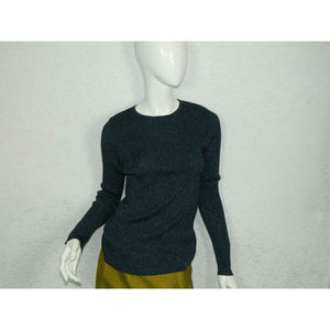 C/Meo Collective Sweater Blue Crew Neck Pullover M